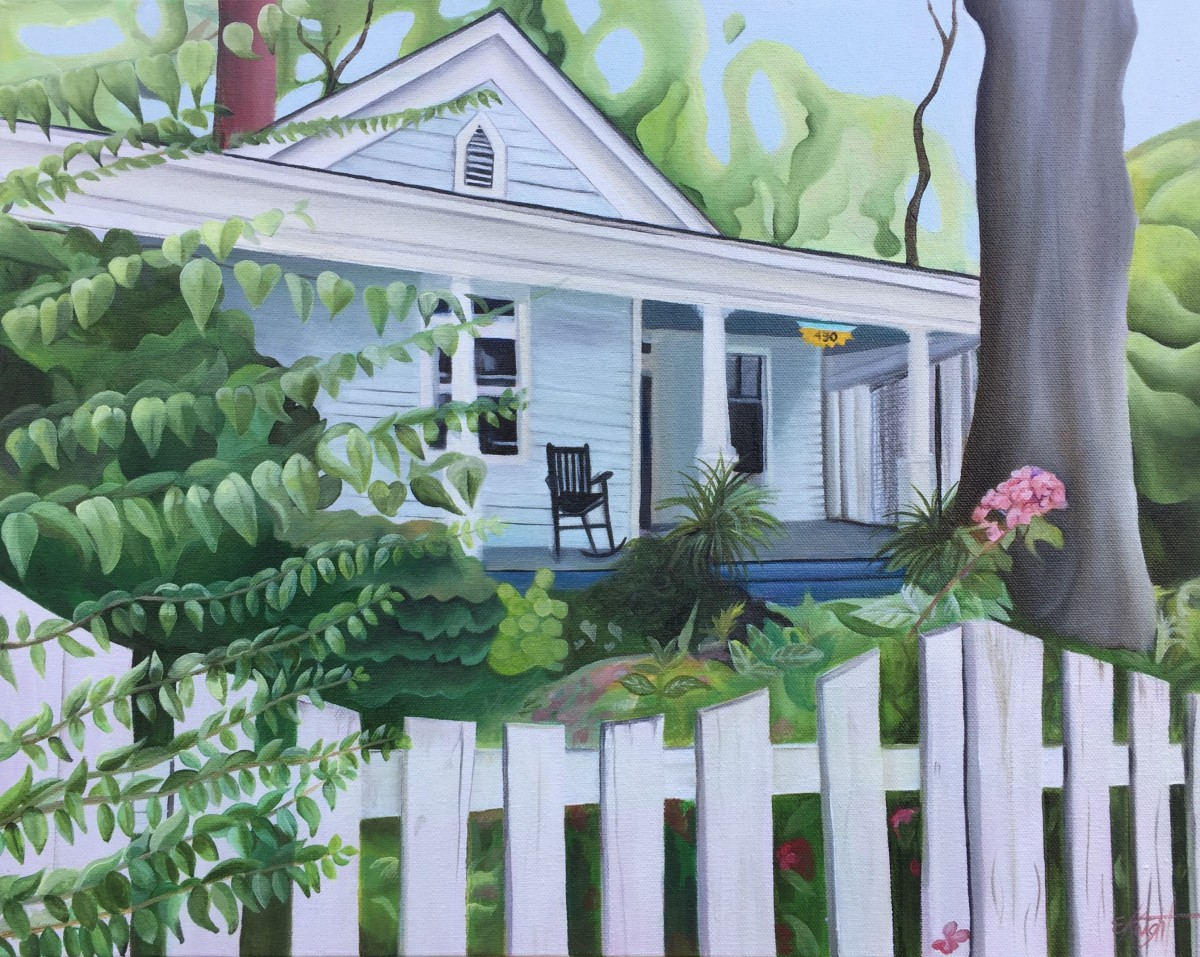 Picket Fence, Grant Park by Emma Knight