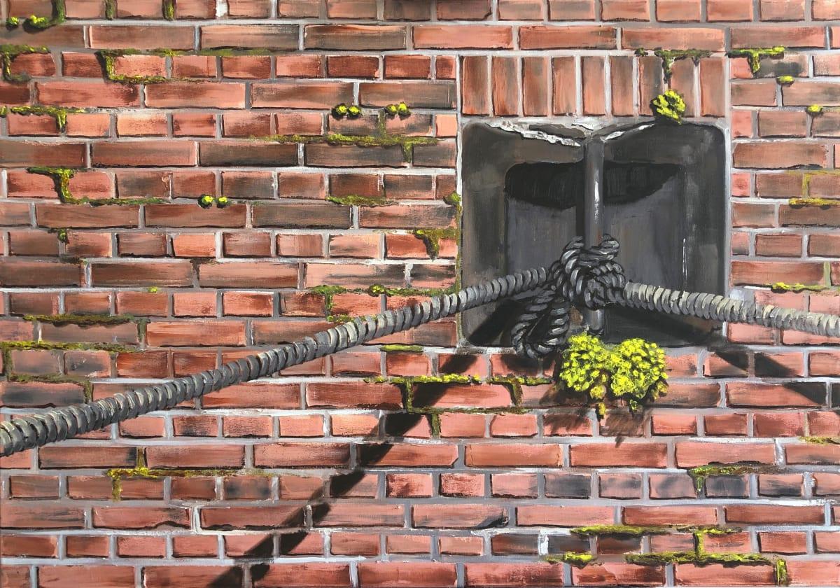 Bricks, bricks, bricks by Judith Ansems Art