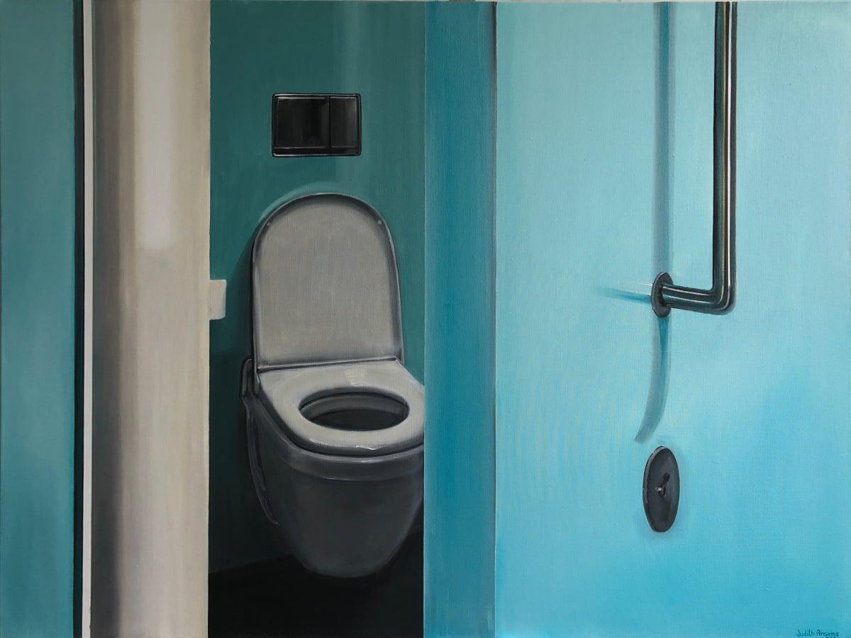 Bluish Door by Judith Ansems Art