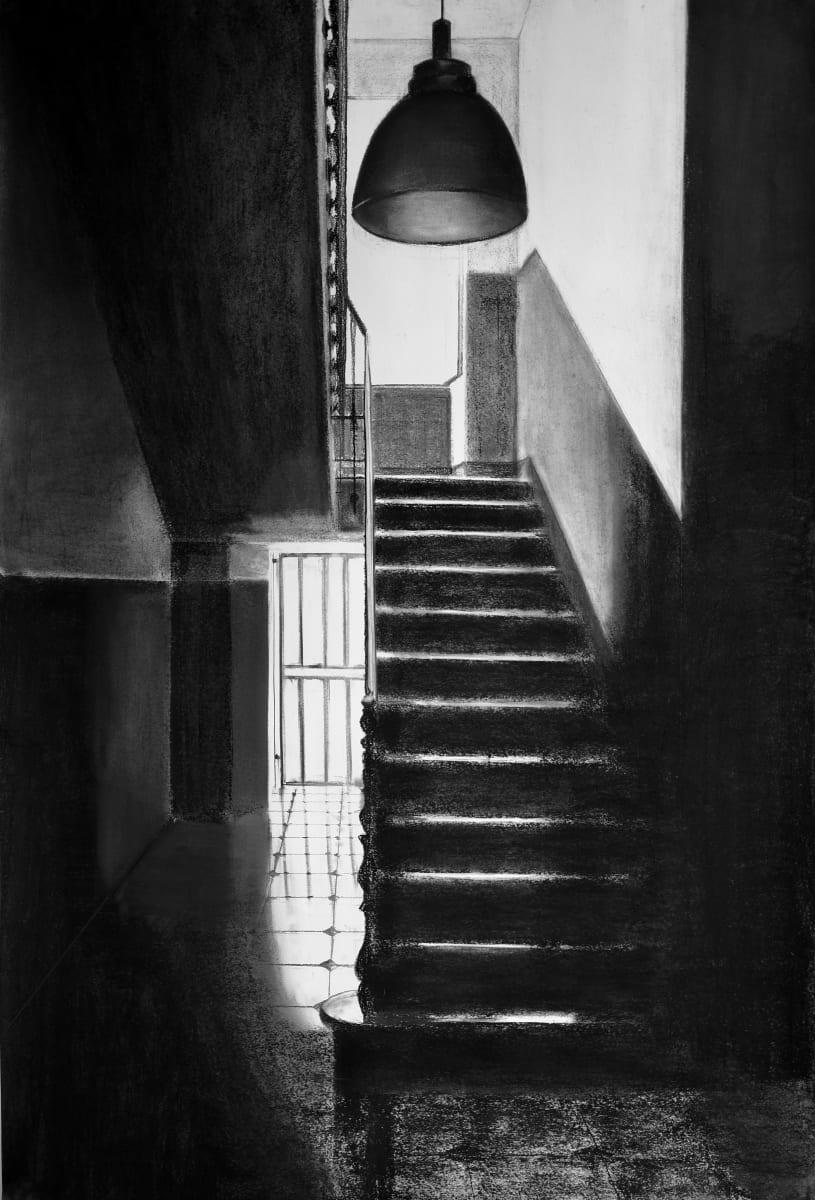 Stairway Notaio Ventimiglia by Judith Ansems Art
