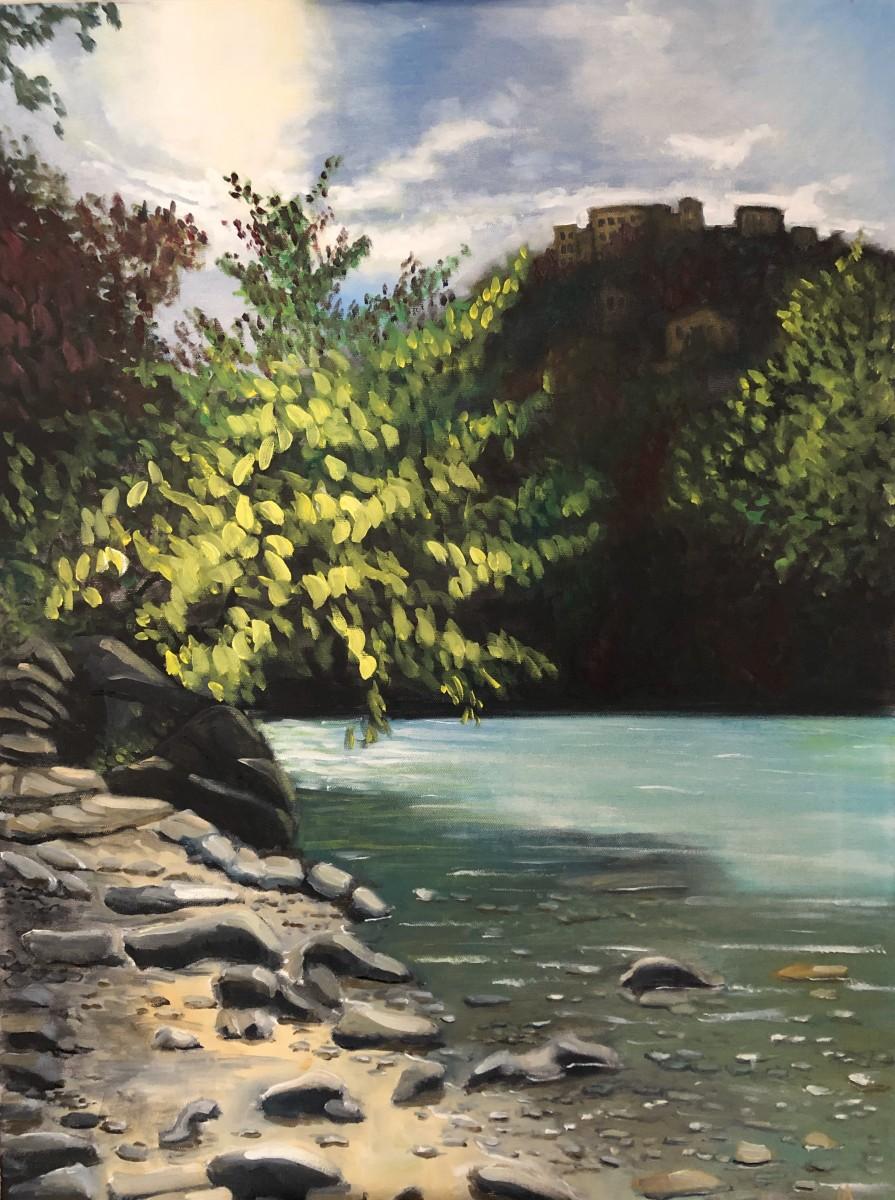 Roya River by Judith Ansems Art