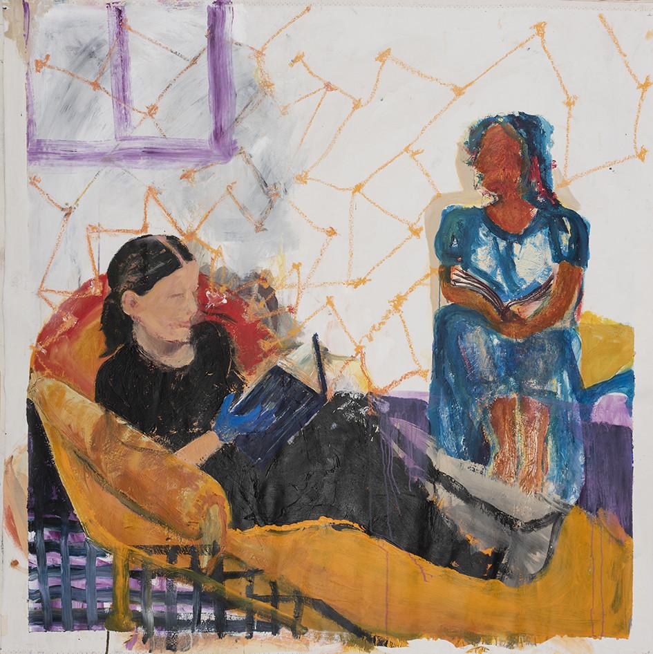 READING WOMEN by Fran White