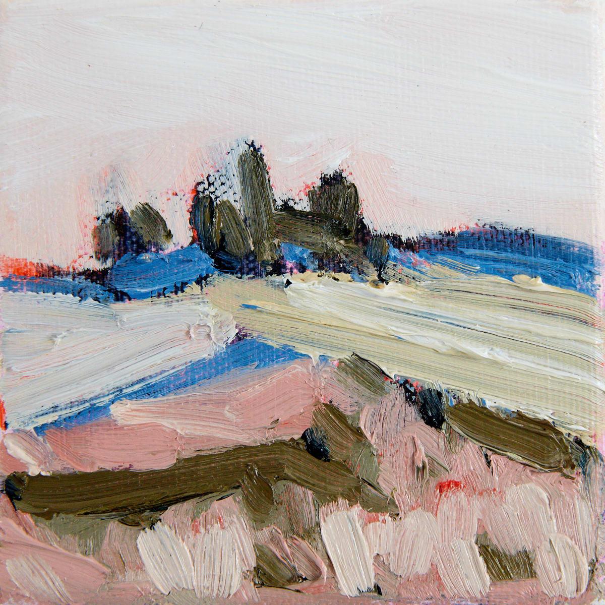 Spring fields ii by Rebecca Rath