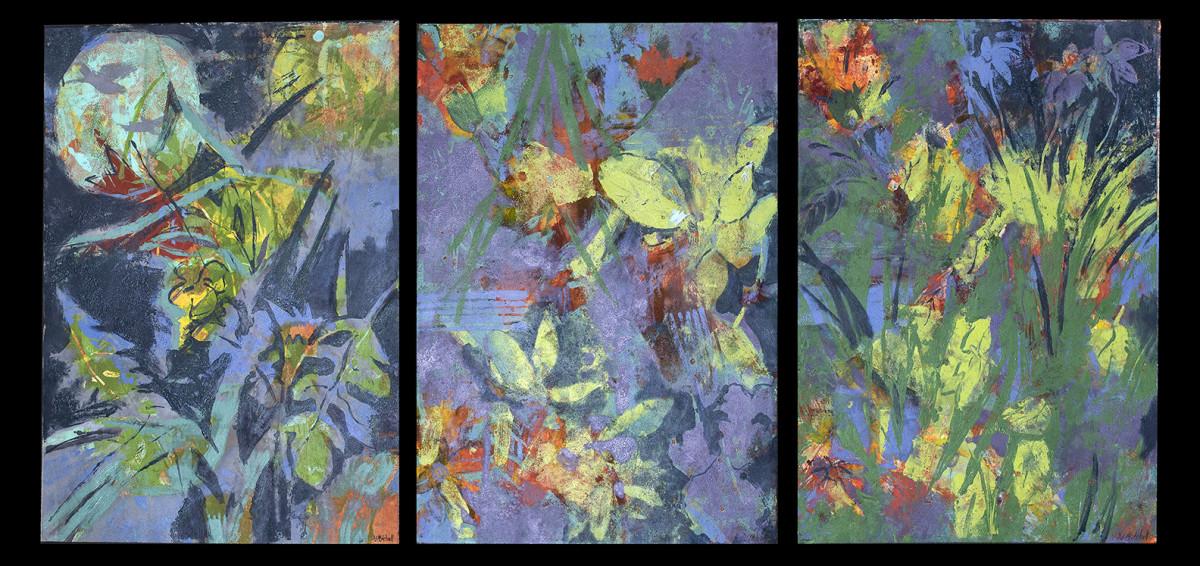 Garden in the Moonlight by Deborah Mitchell
