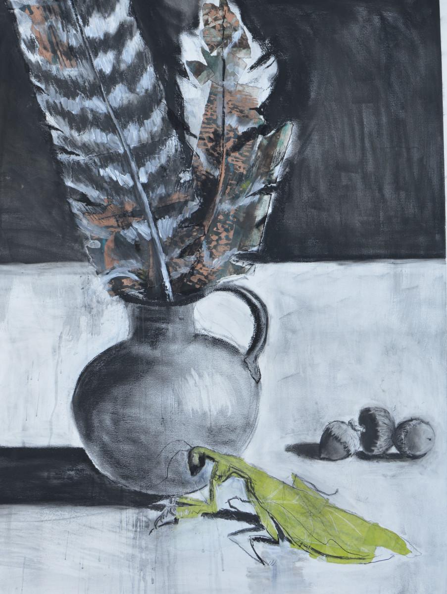 Praying Mantis by Deborah Mitchell