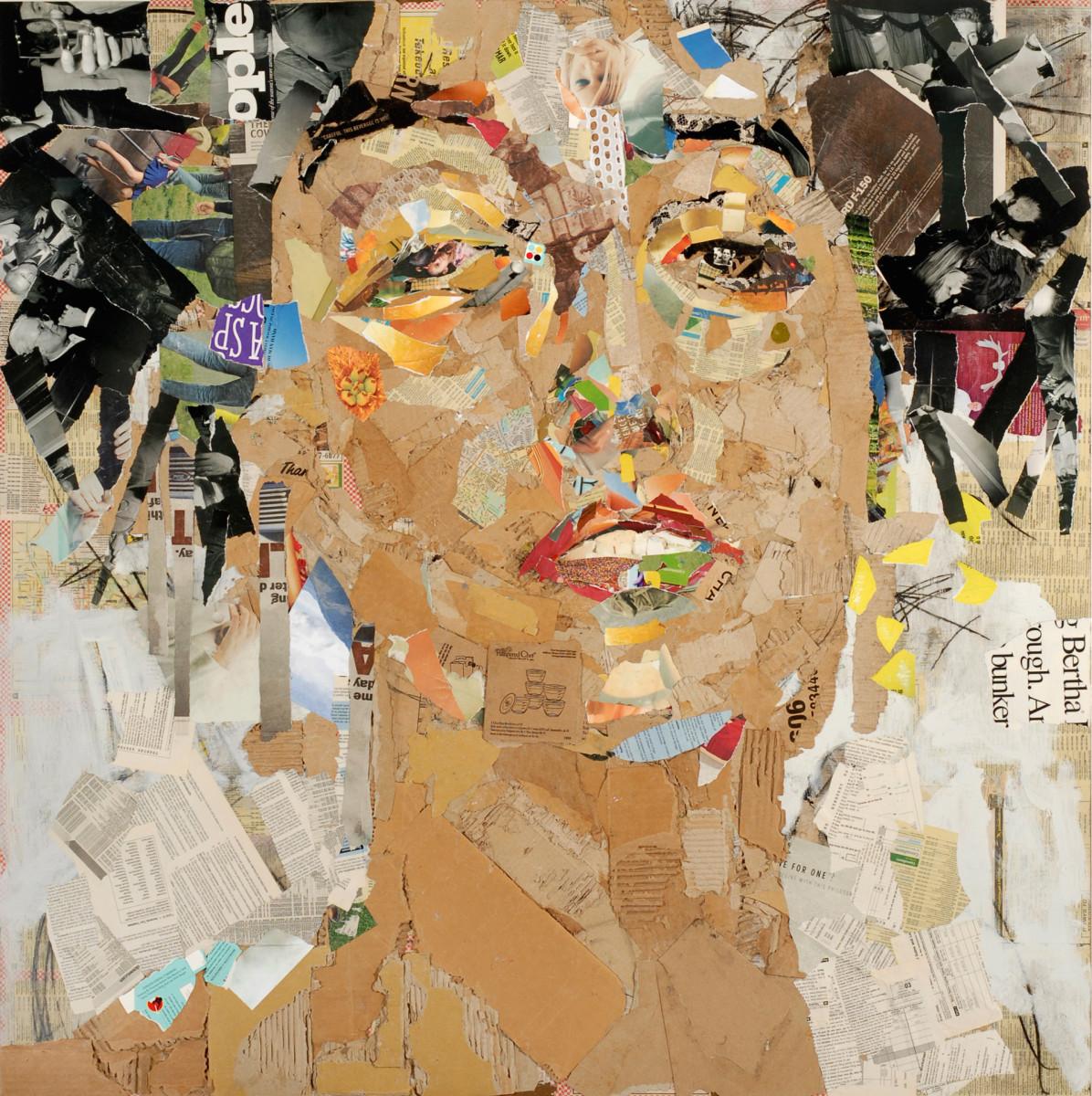 Visage (After Klimt's Muse) by Michael Gadlin