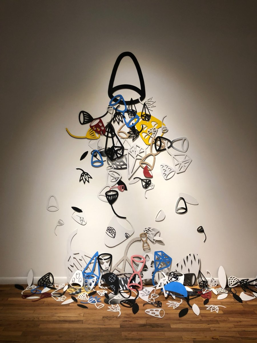Shades of Significance Installation by Michael Gadlin