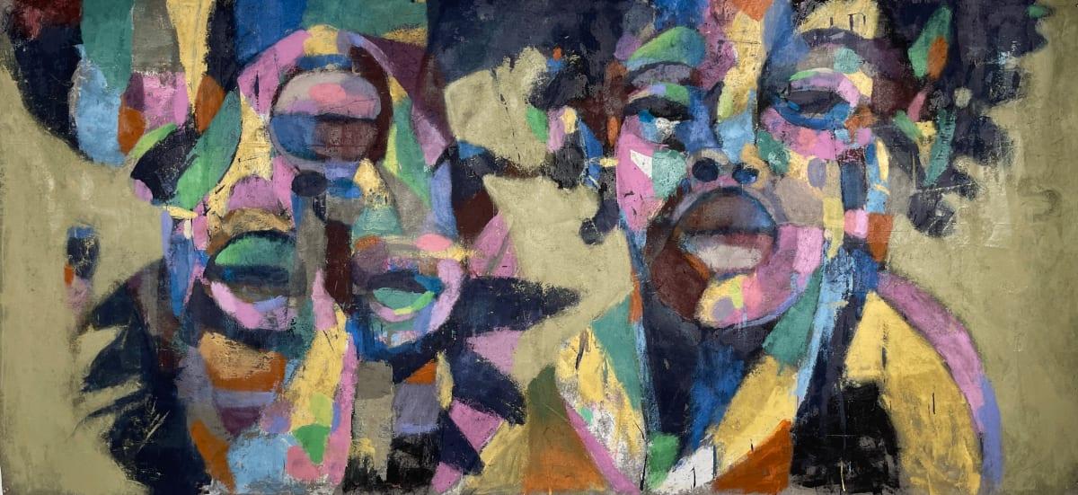 Blackness Deep Inside The Urban Jungle Eating Rainbows. by Michael Gadlin