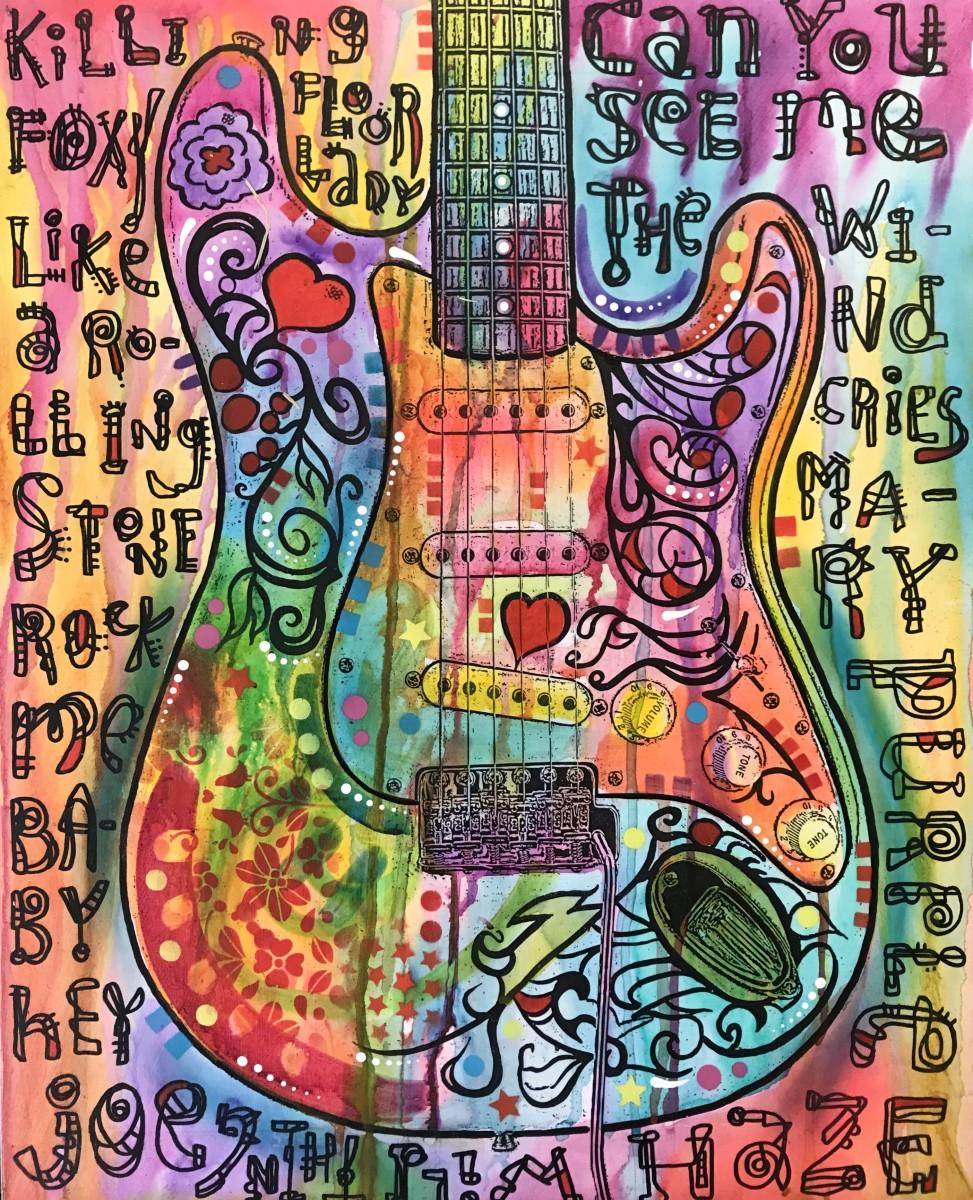Hendrix Monterey Strat