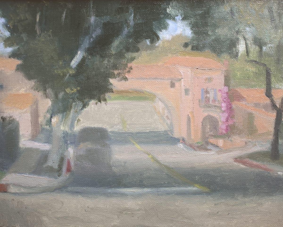 Malaga Plaza Portico by Curtis Green