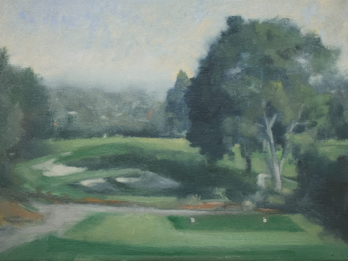 The Eighth Tee by Curtis Green