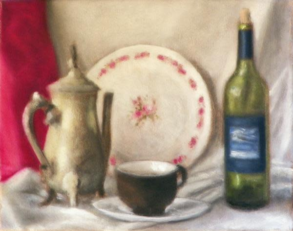 Still Life, Composition One by Curtis Green