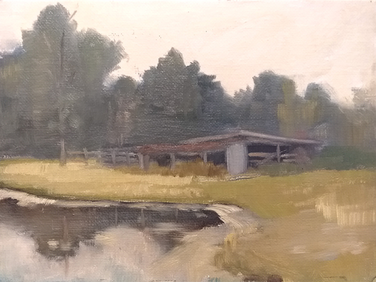 The Bull Barn by Curtis Green
