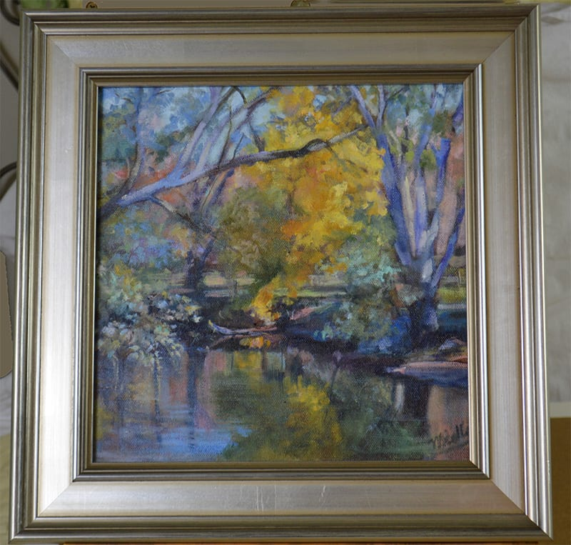 Landscape in Pastel by Madeleine Kelly