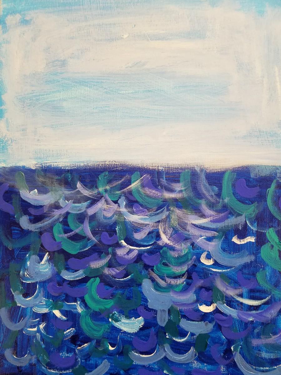 Bright Blue Waves