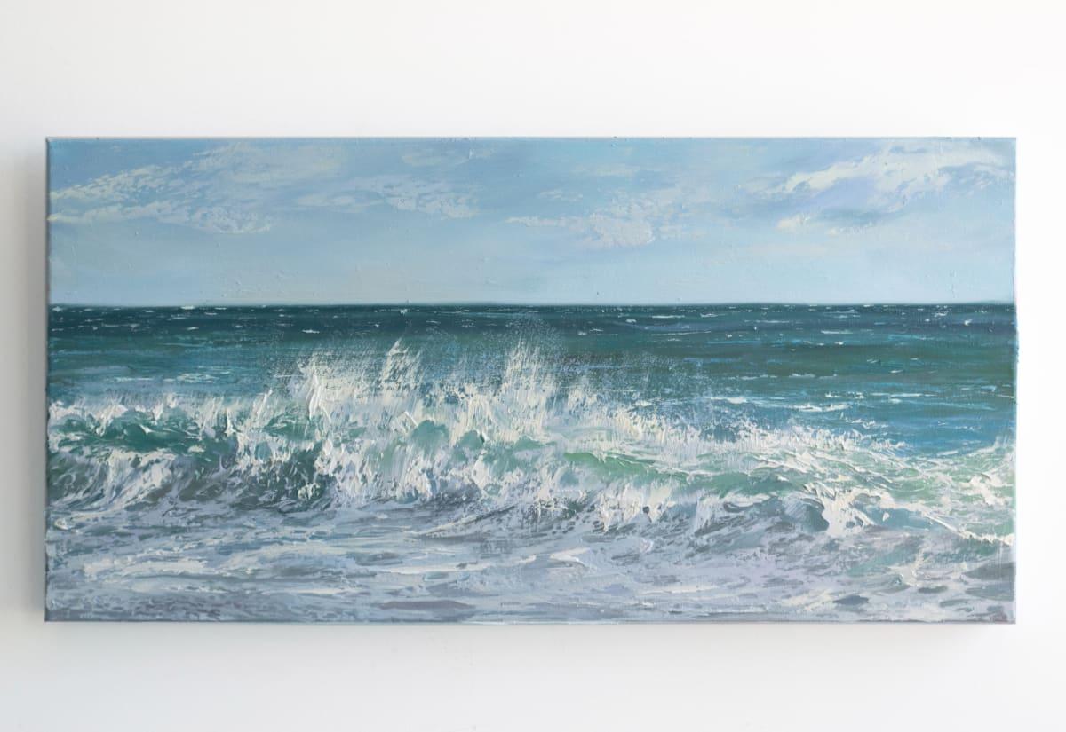 Summer Surf II by Annie Wildey