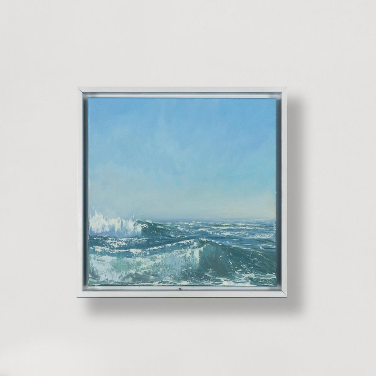 Glistening Waves I by Annie Wildey
