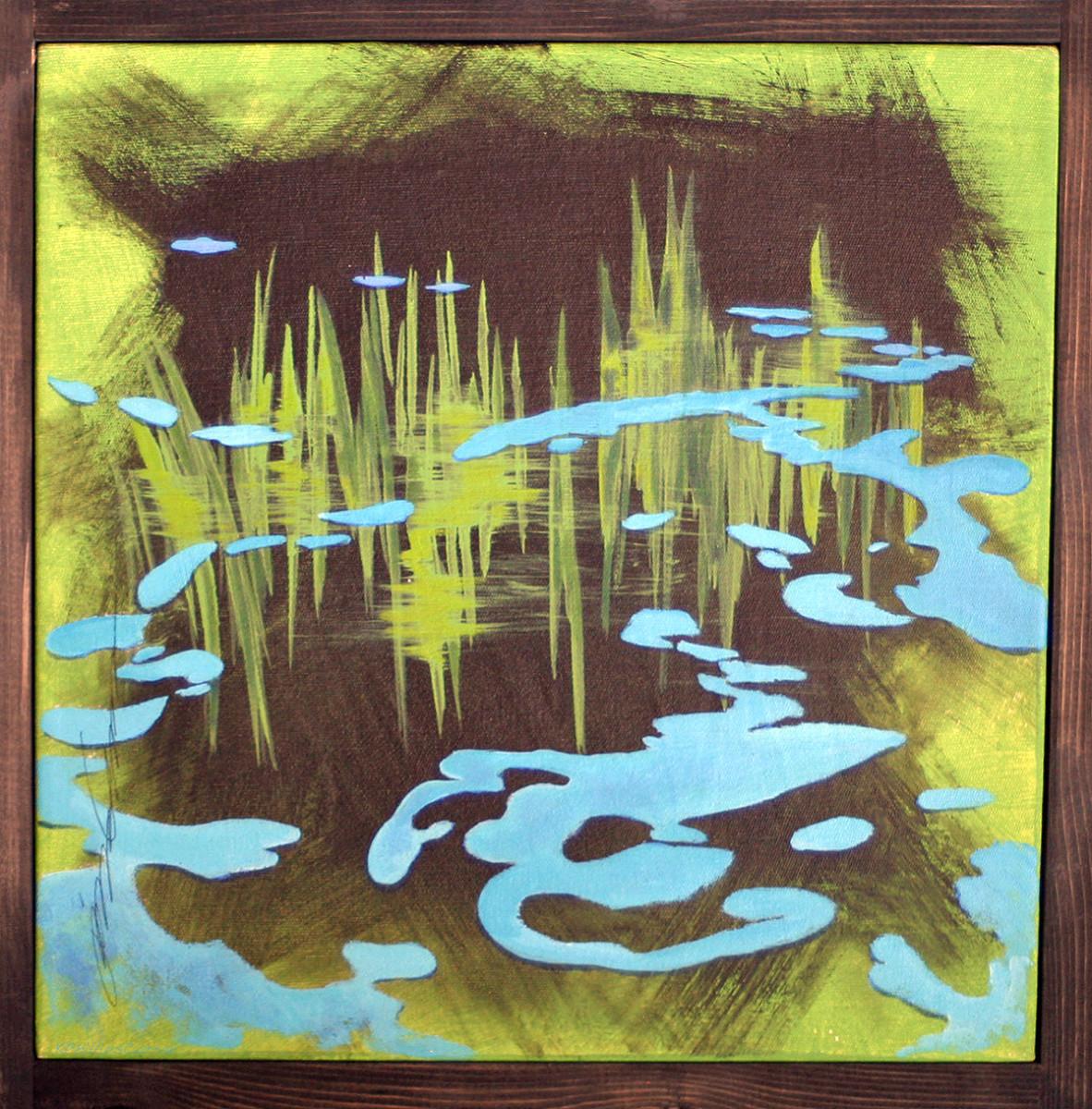 Black Water 12 by Karen Phillips~Curran