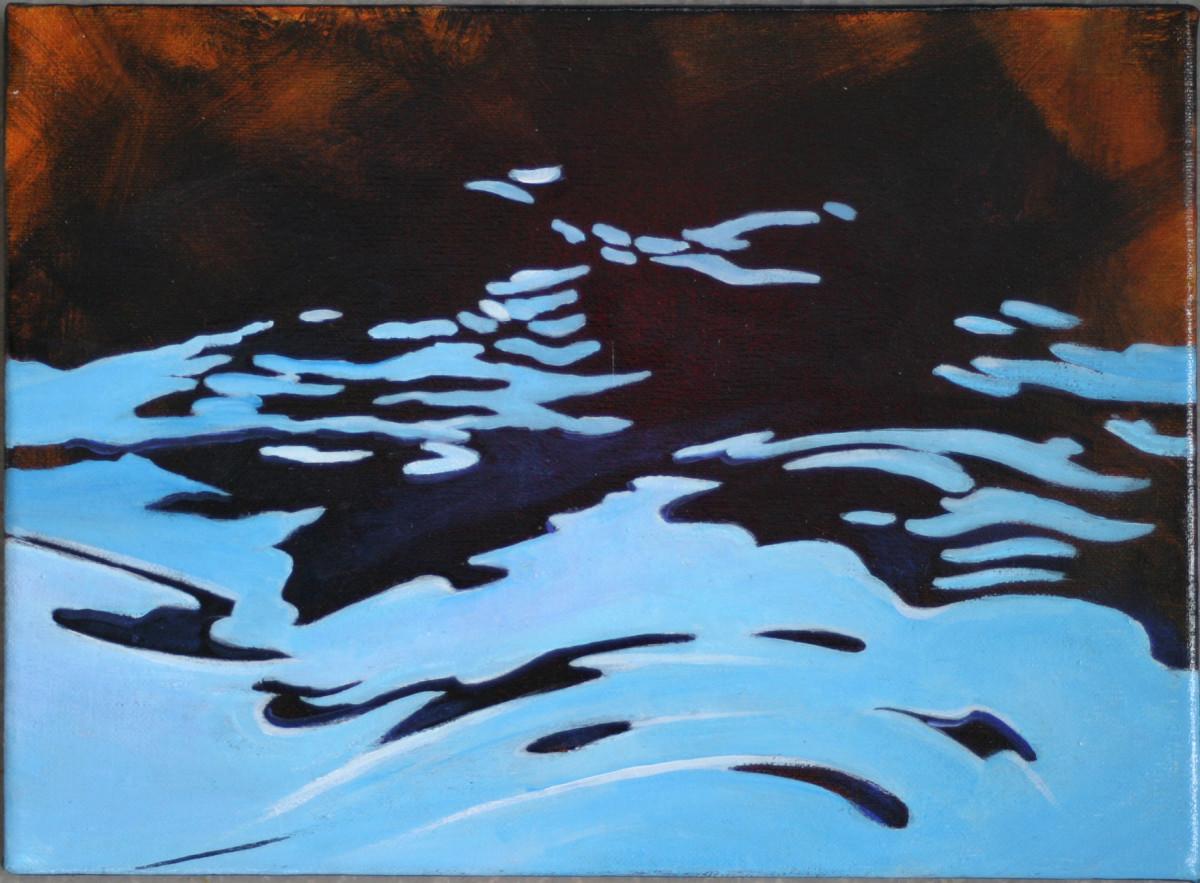 Black water 4 by Karen Phillips~Curran