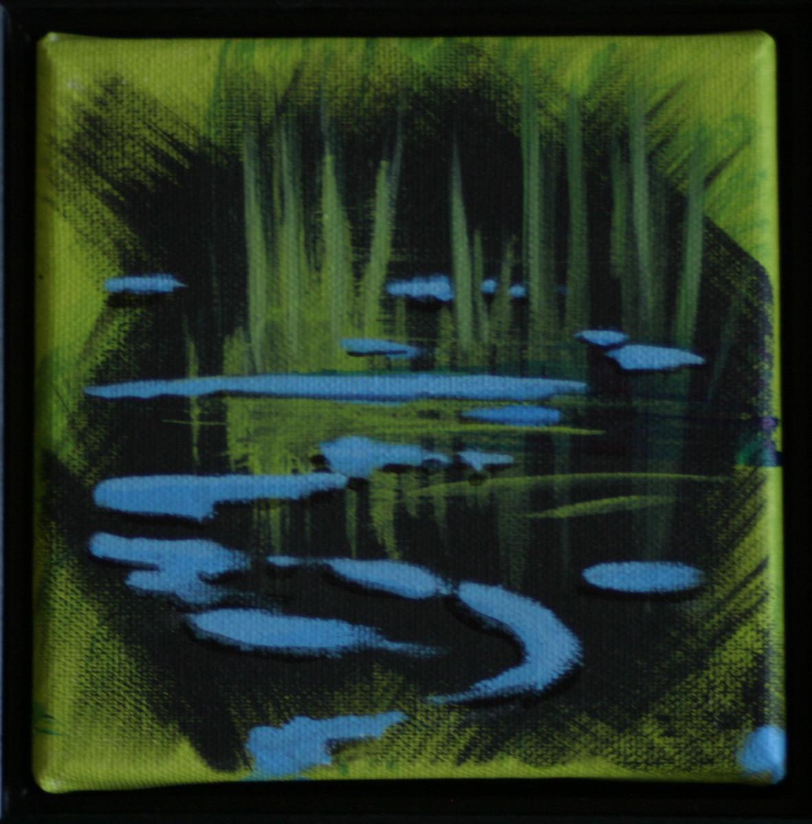 Black Water 18 by Karen Phillips~Curran