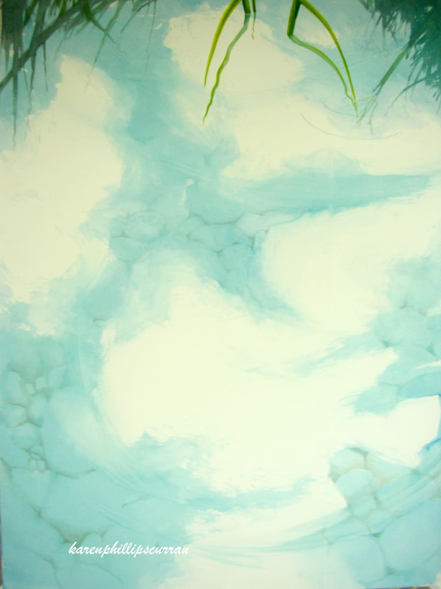 Clouds & Reeds by Karen Phillips~Curran