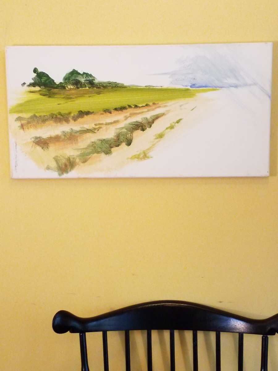 First Cut regrowth by Karen Phillips~Curran