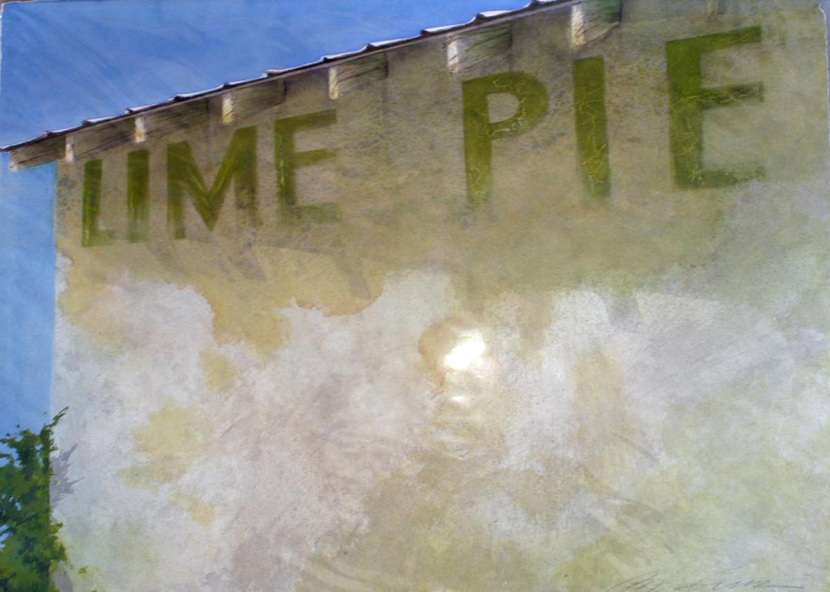 Lime Pie by Karen Phillips~Curran