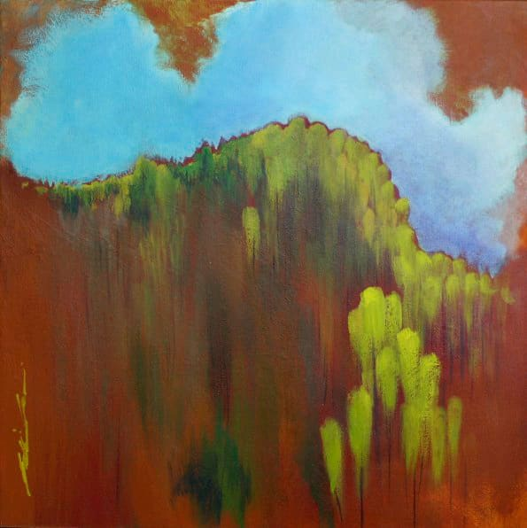 Mountains of New Leaves by Karen Phillips~Curran