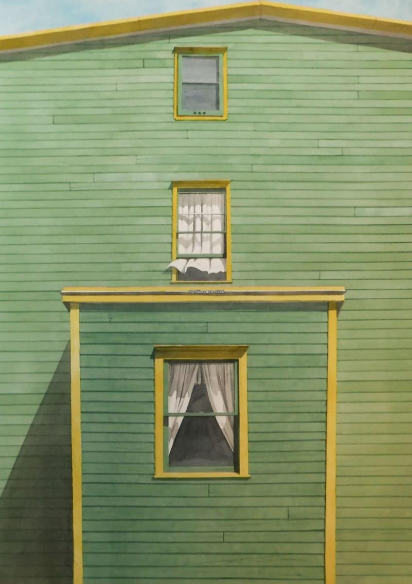 Yellow Green Nfld by Karen Phillips~Curran