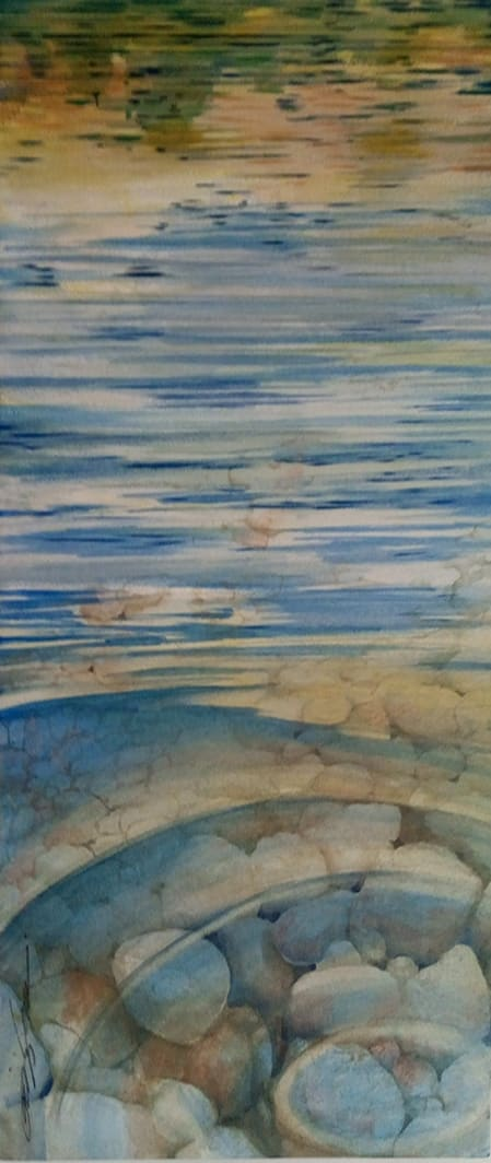 Reflections and Ripples by Karen Phillips~Curran