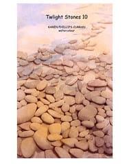 Speckled Stones  print by Karen Phillips~Curran