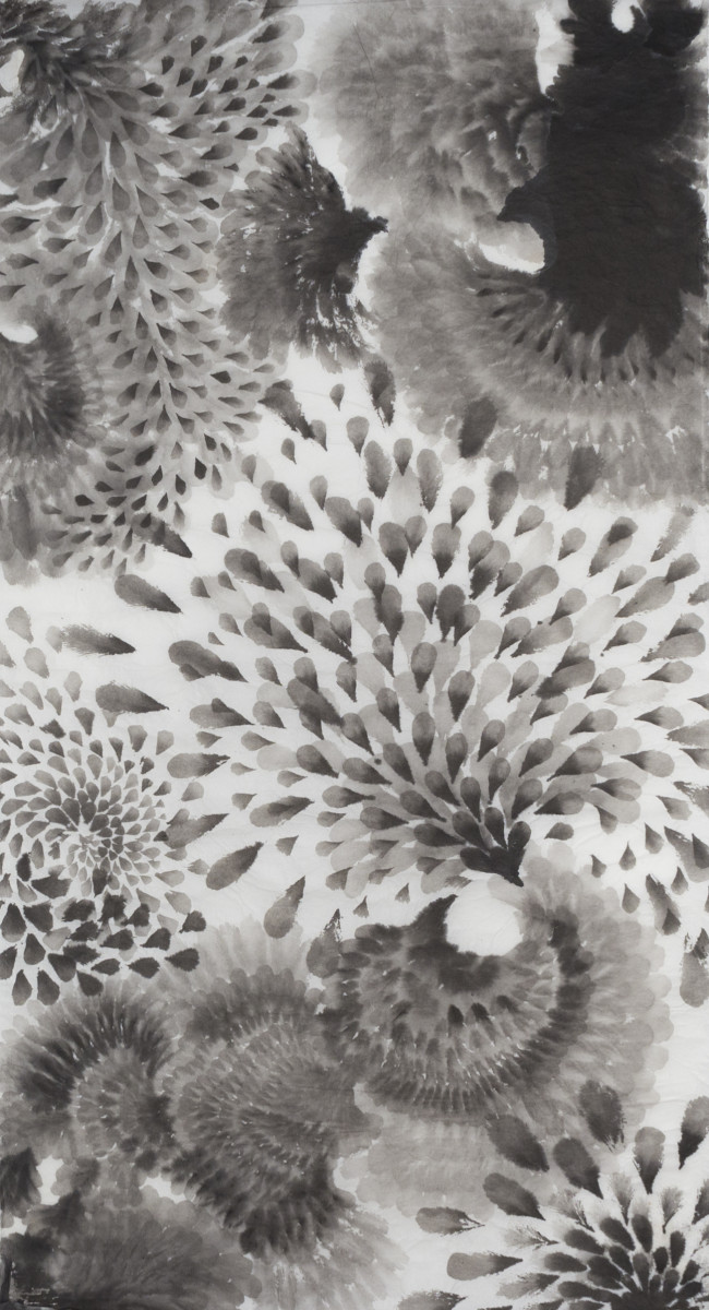Floral Scroll II