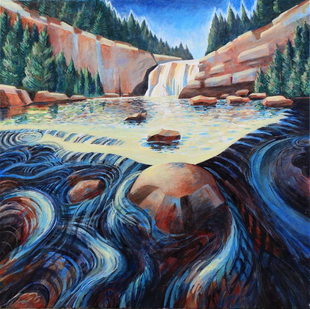 """""""Force and Flow"""" by Jeff Dallas"""