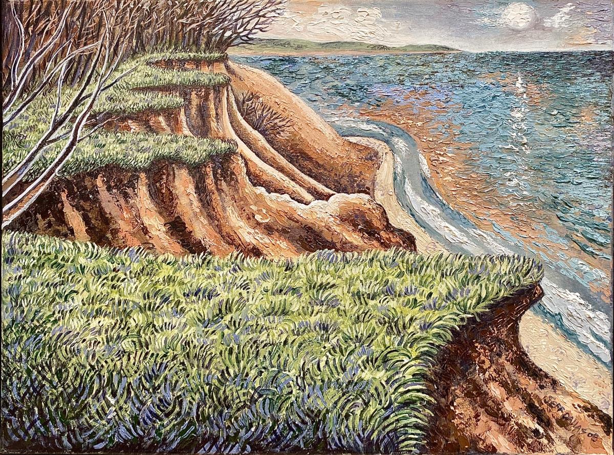Moonlit Bluffs by Jeff Dallas