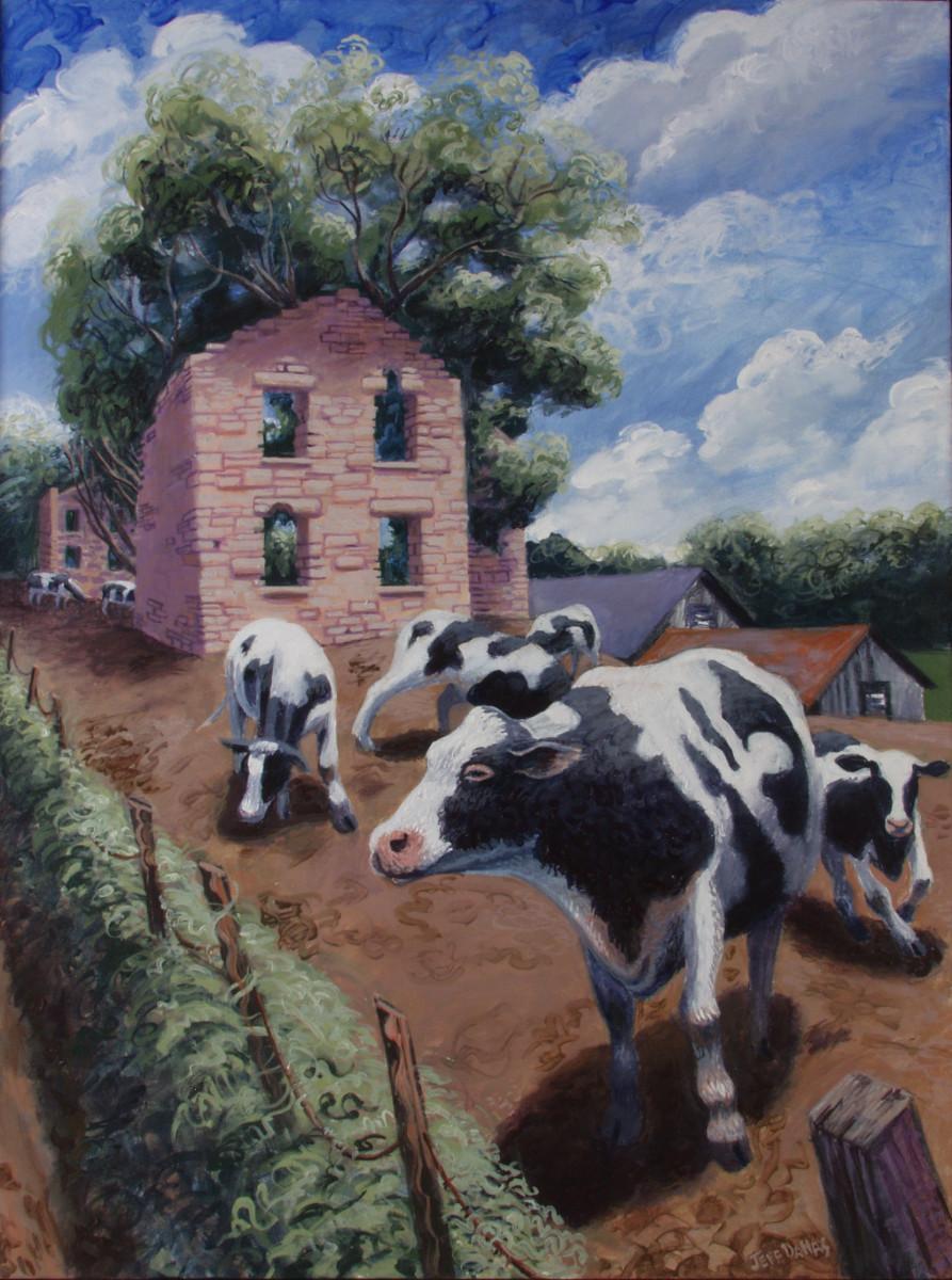 """""""Holstein Hoedown"""" by Jeff Dallas"""
