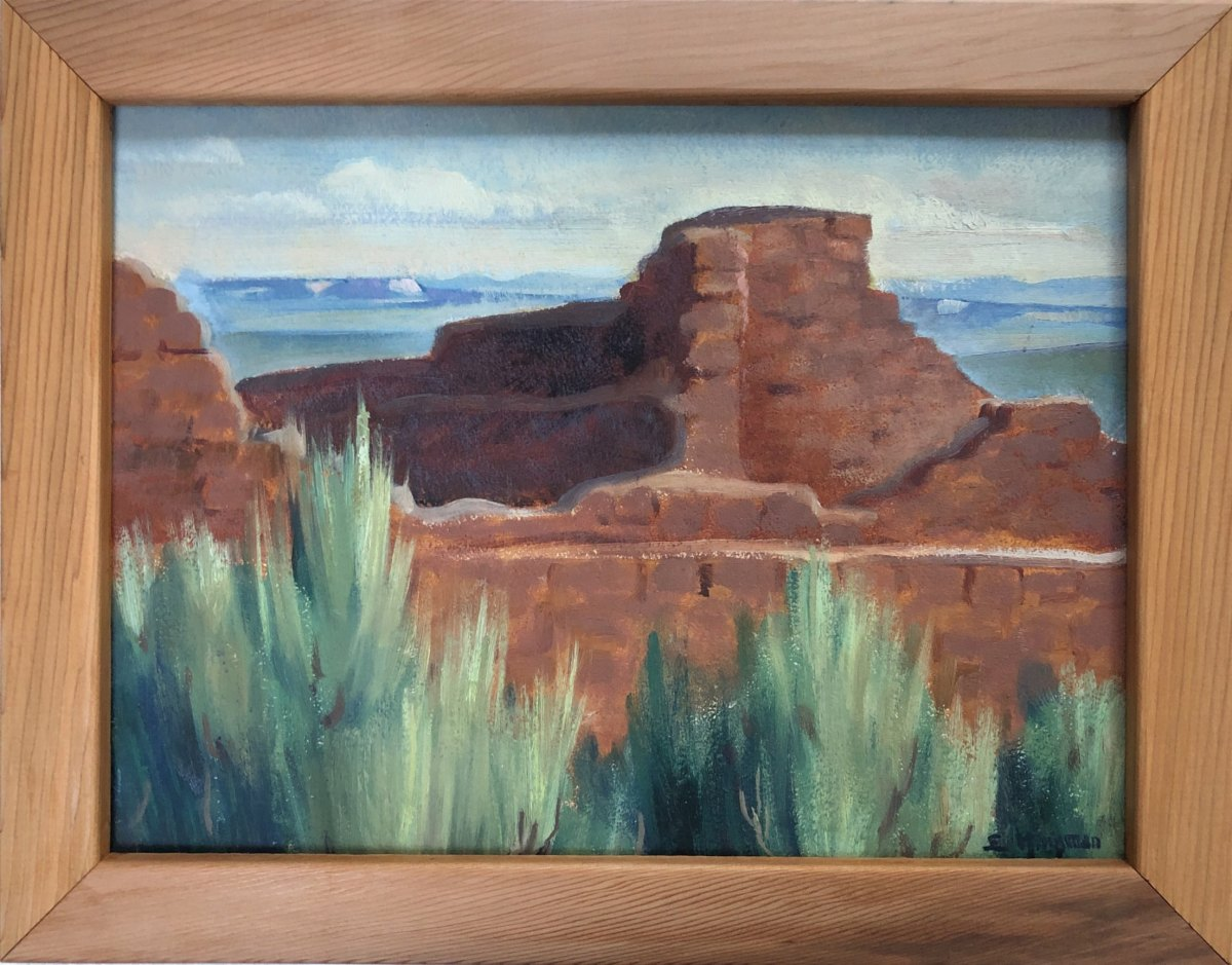 Far View House Mesa Verde  1937 by EUGENE KINGMAN