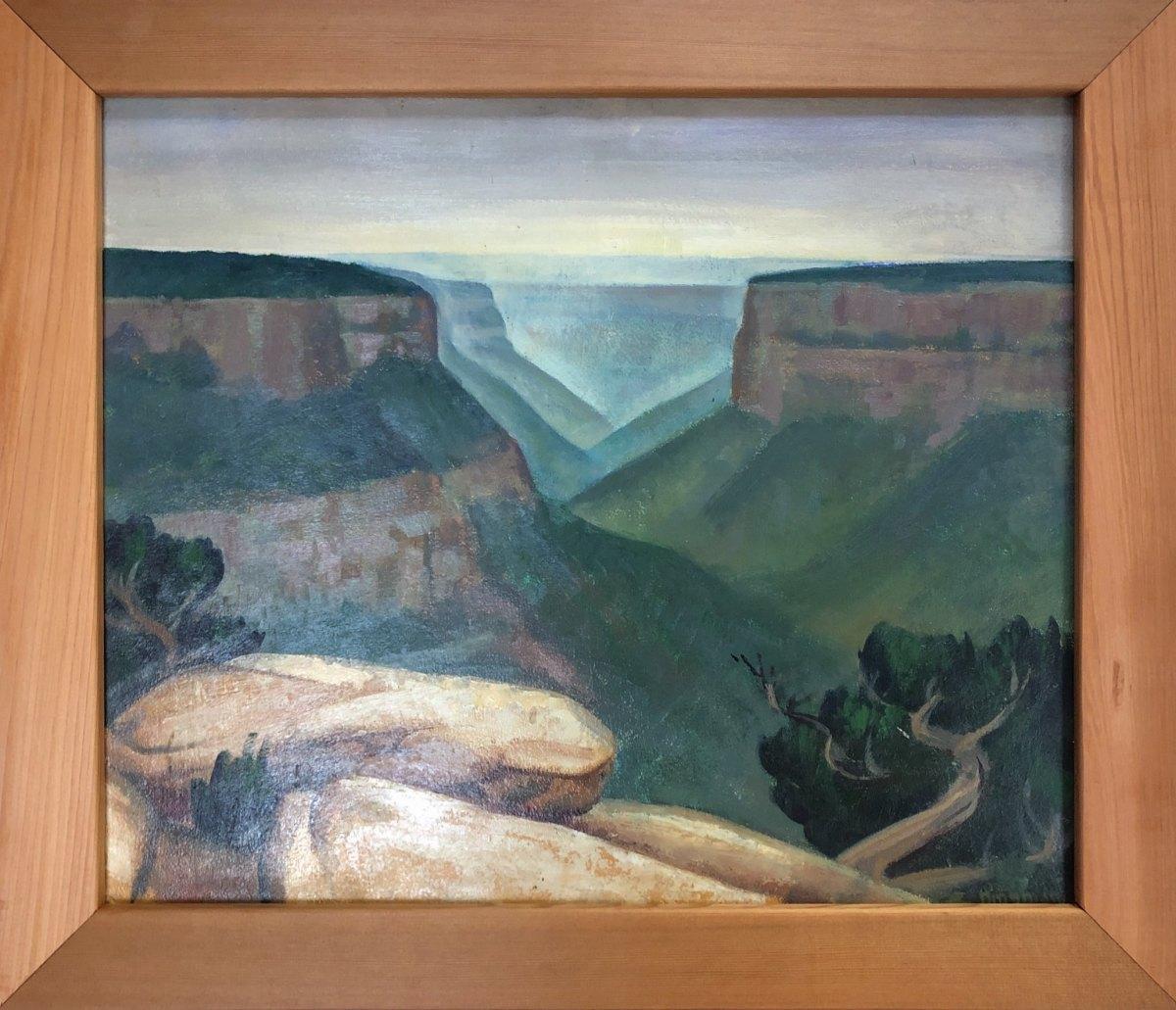Mesa Verde National Park  1937 by EUGENE KINGMAN