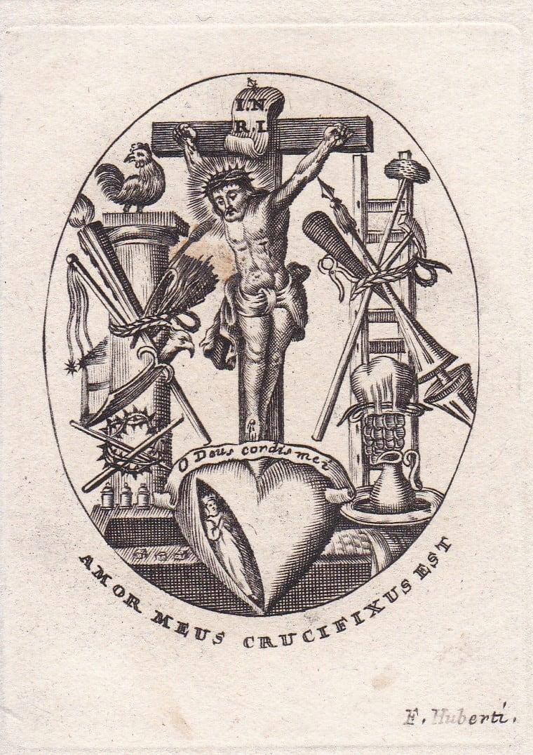 Amor Meus Crucifixus Est by Francis Huberti