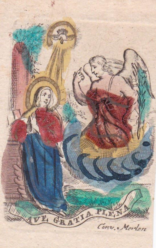Ave Gratia Plena by Cornelius van Merlen
