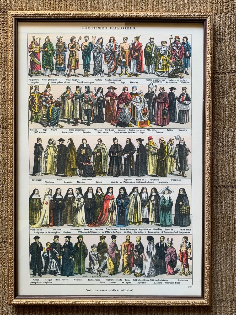 Costumes Religiuex
