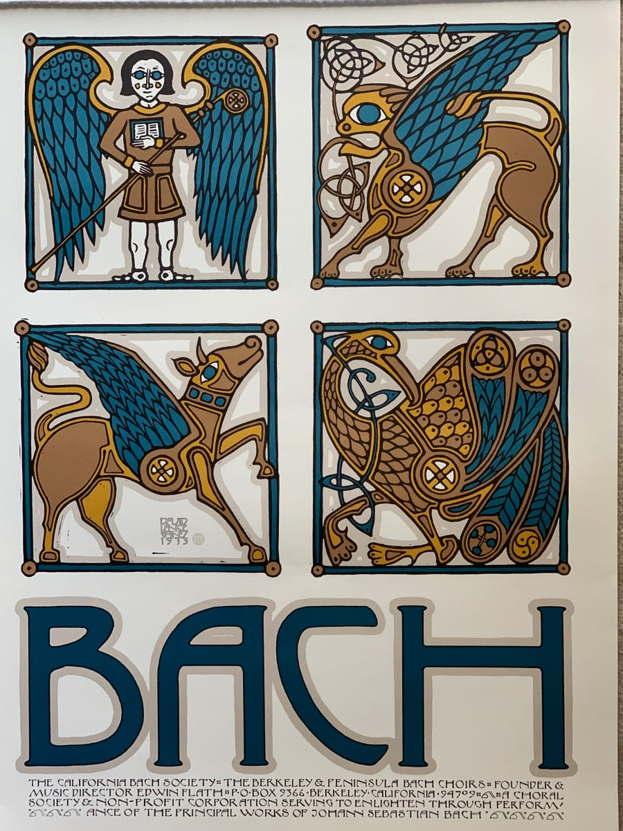 Bach by David Lance Goines