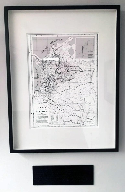 Repúblicas - Mapa de la República de Colombia 1950. by Jorge Luis Vaca Forero