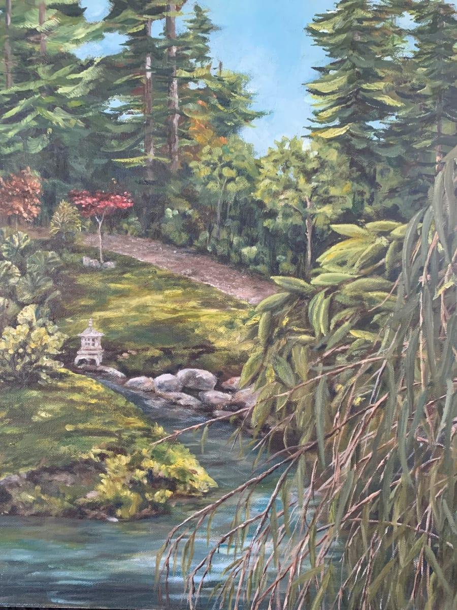 Strolling the Japanese Gardens by Jennifer Peers