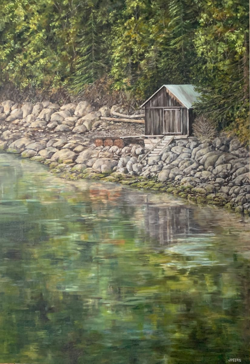 Charlie's Boat House by Jennifer Peers
