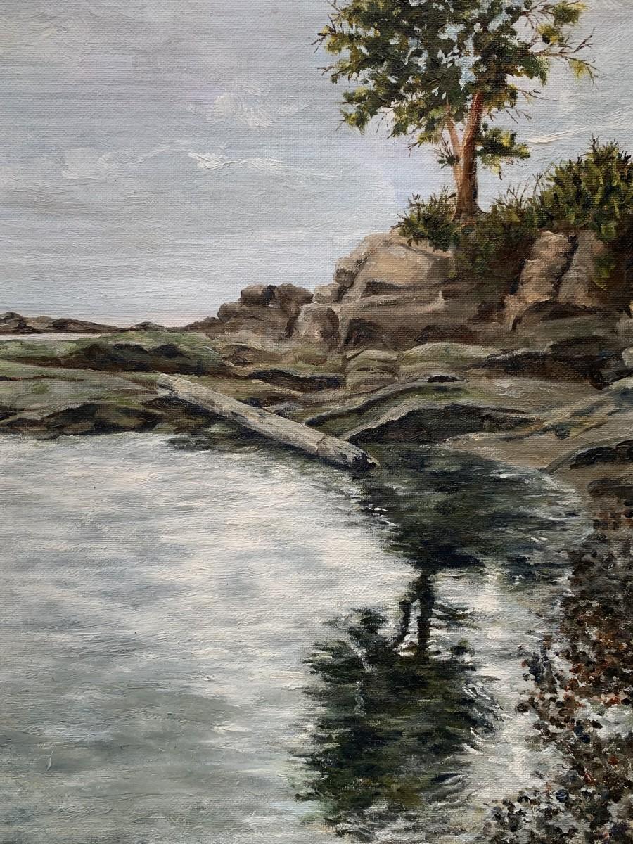 Moody Reflection by Jennifer Peers