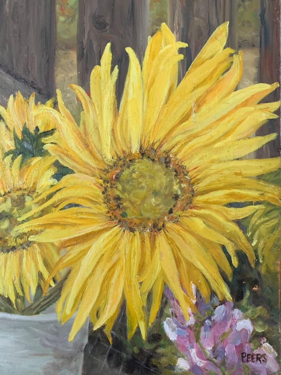 Farm Stand Flowers by Jennifer Peers