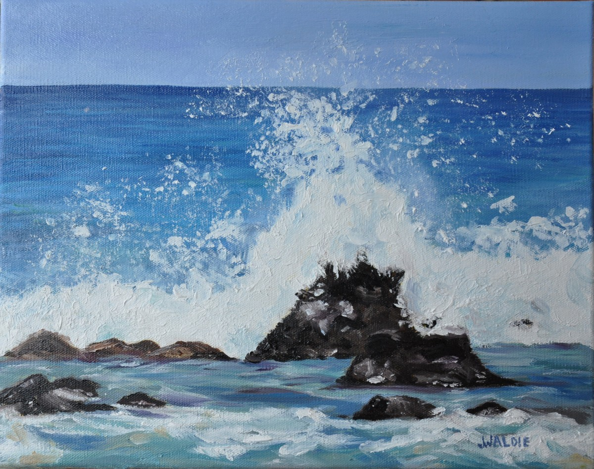 Maui Spray by Jody Waldie