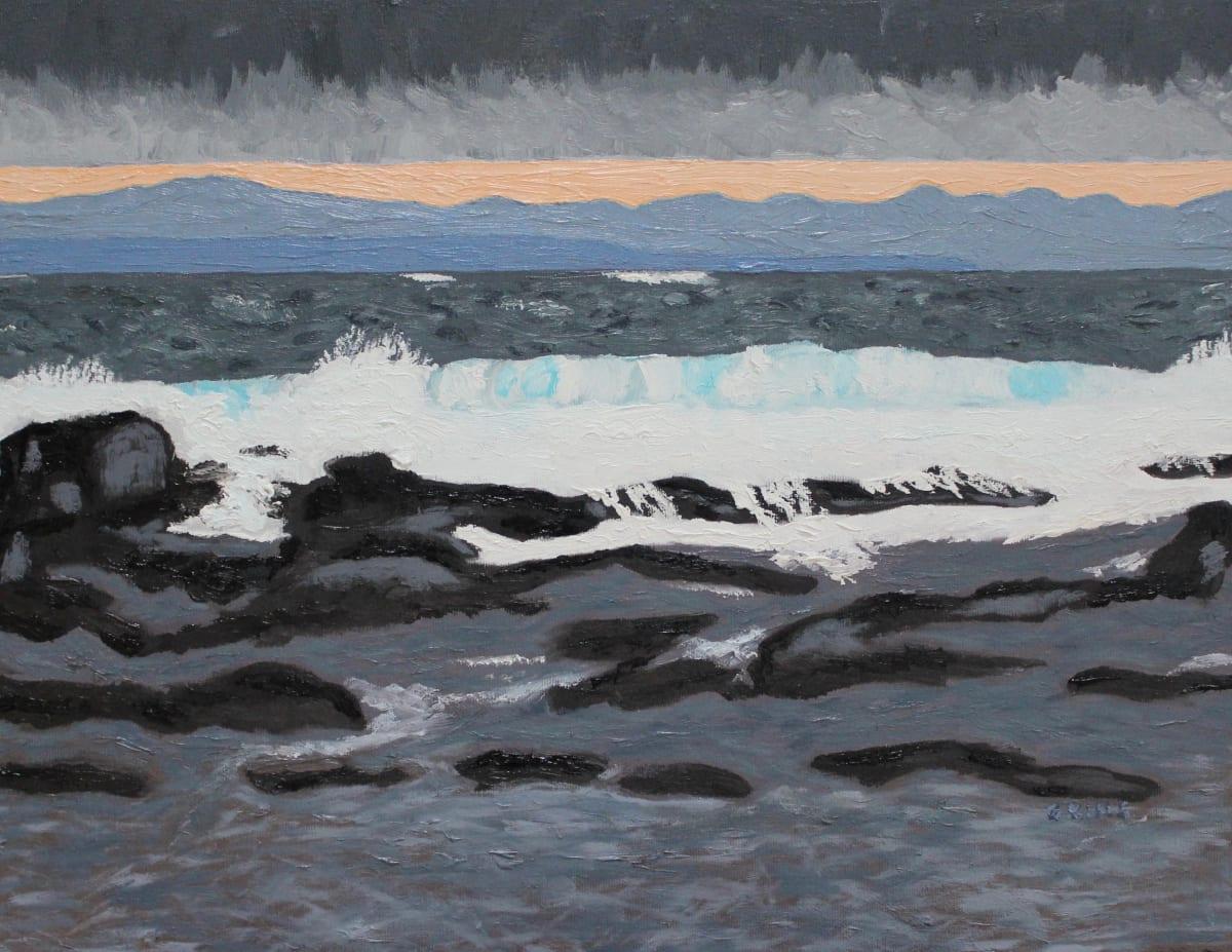 Rumbling Reef Bay by Glenda King