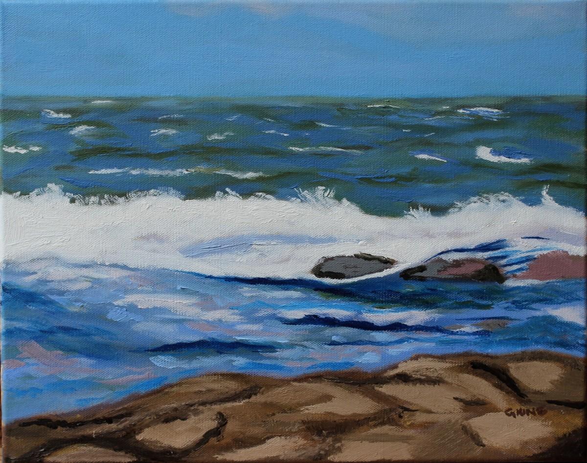 Stormy Waters I by Glenda King