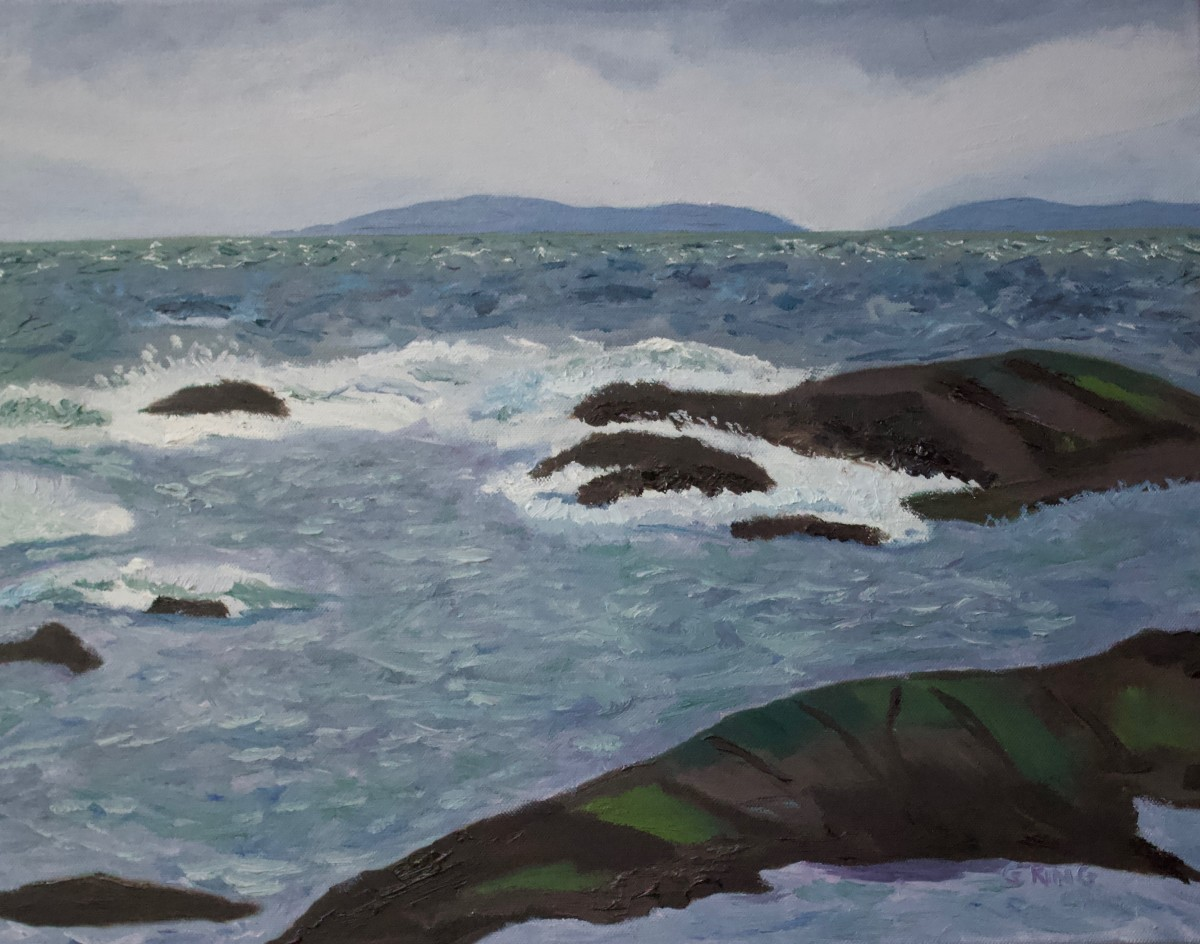 Stormy Waters II by Glenda King